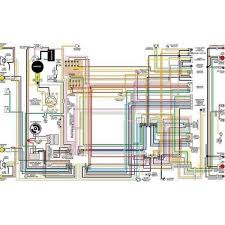 firebird color laminated wiring diagram 1967 1981 eckler u0027s