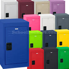 metal kids lockers sandusky mini lockers for kids