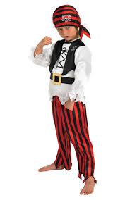 Childs Pirate Fancy Dress Kids Book Week Halloween Party Childrens