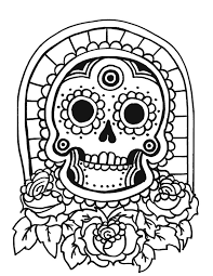 tiki mask coloring pages chuckbutt com