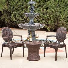 All Weather Patio Chairs Inspiring All Weather Wicker Patio Furniture With L Shape Design