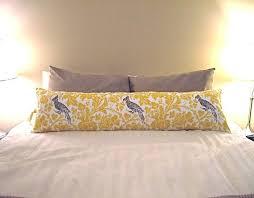 bolster bed pillows elegant long pillows for bed and silk body pillows silk body pillows