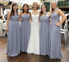 gray bridesmaid dress grey bridesmaid dress with green and white flowers bridesmaids