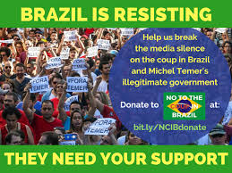 Meme Brazil - ask your mp to sign stand up for democracy social progress in