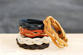leather bracelet craft images Craftionary jpg