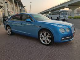 bentley continental flying spur blue bentley continental flying spur mulliner motors