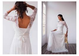 Boho Wedding Dresses Bohemian Wedding Dresses For Boho Chic Brides