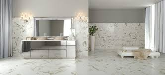 Contemporary Tile Bathroom Carrara Porcelain Tile Bathroom Contemporary With White Stone