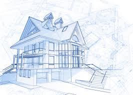 Home Design Vector Free Download House Building Blueprint Design Vector 06 Vector Architecture