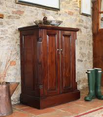 Hallway Shoe Cabinet by La Roque Mahogany Shoe Cupboard Imr20a