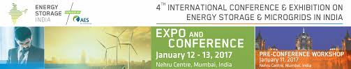 energy storage india january 12 13 2017 nehru center