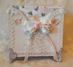 Shabby Chic Napkin Holder by Annes Papercreations Napkin Holder Using Pion Design For Mother