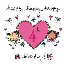 Happy Fourth Birthday Quotes Happy 4th Birthday Cards Pinterest Juicy Lucy Birthdays