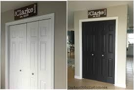 Removing Folding Closet Doors Converting Our Bi Fold Closet Doors To Doors S