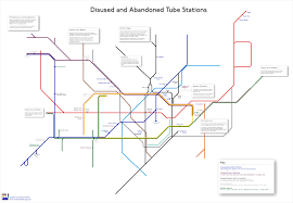 London Metro Map by A Simplified Map Of London U0027s Ghost Stations Randomly London
