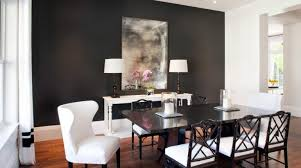 smart placement paint colors for dining room with dark furniture