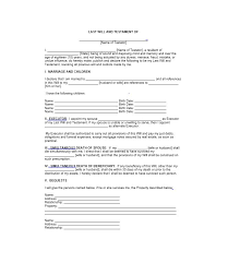 template wills will form 1 august 2016 semester 2 bs 2 assignment brief