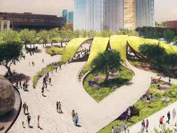 Grand Park Los Angeles Map by Four Competing Schemes For Downtown Los Angeles U0027 First U0026 Broadway