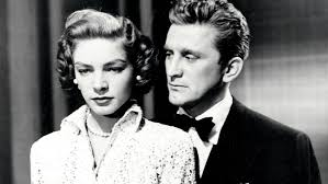 kirk douglas remembers lauren bacall she was my