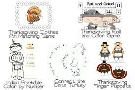 free worksheets thanksgiving activities for kindergarten