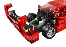 f40 suspension lego f40 announced iconic 1987 supercar s blockbuster
