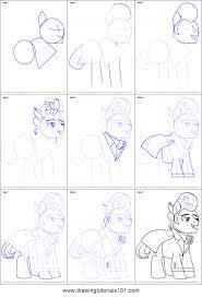 draw gladmane pony friendship magic