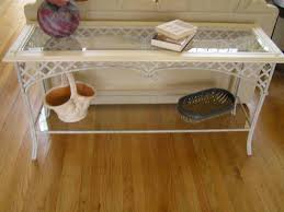 Sofa Tables Cheap by Wrought Iron Sofa Table Homesfeed