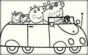 Peppa Pig Coloring Pages For Print And Color Color Zini Pig Coloring Pages