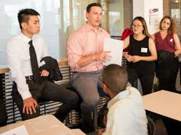 recruiting events target corporate career services mccombs of business
