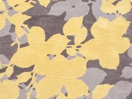 jaipur rugs floor coverings hand tufted floral pattern wool yellow