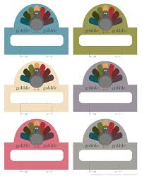 printable name place cards thanksgiving turkey placecards free printable