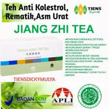 Teh Jiang tiens jiang zhi tea teh hijau penghancur kolesterol 40 bagsbox