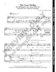 the cross medley satb by bradley knight j w pepper sheet music