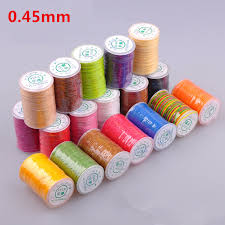 how high is 150 meters 0 45mm colorful high quality tenacity 150meters waxed round
