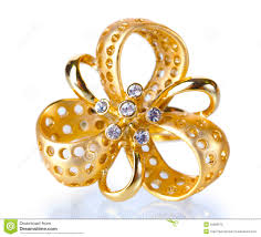 beautiful golden rings images Beautiful gold ring with precious stones stock photo image of jpg