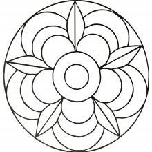 Mandalas faciles pour enfants  100 Mandalas Zen  Antistress