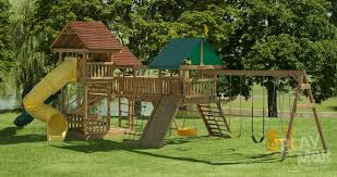 Playground Sets For Backyards by Elation Station Kids Backyard Swing Sets Playmor Swing Sets