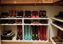 a closet update boot u0026 shoe storage solution
