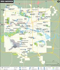 map us iowa des moines map map of des moines capital of iowa