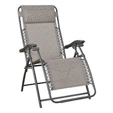 Outdoor Recliner Chairs Briscoes Outdoor Creations Valencia Zero Gravity Reclining Chair