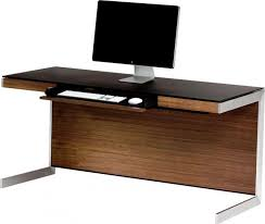 Walnut Computer Desks Walnut Computer Desk New Bdi Sequel 6001 For 1 Interior