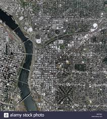 Maps Portland Oregon by Aerial Map Above Portland Oregon Stock Photo Royalty Free Image