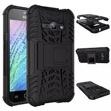 for samsung j1 ace armor 3d shockproof protection stand back