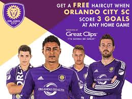 orlando city ups its style with great clips partnership orlando
