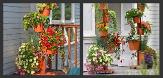 Vertical Flower Bed - vertical gardening in small spaces bombay outdoors