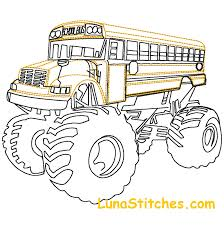 bus monster truck videos bus drawing at getdrawings com free for personal use