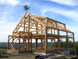 garland mill timberframes timber to frame