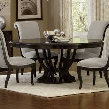 round table stockton pacific savion espresso round oval pedestal dining table for 599 94