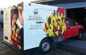 edible delivery edible arrangements delivery truck
