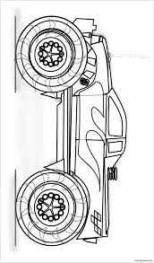 monster trucks coloring pages easy monster truck coloring page free coloring pages online